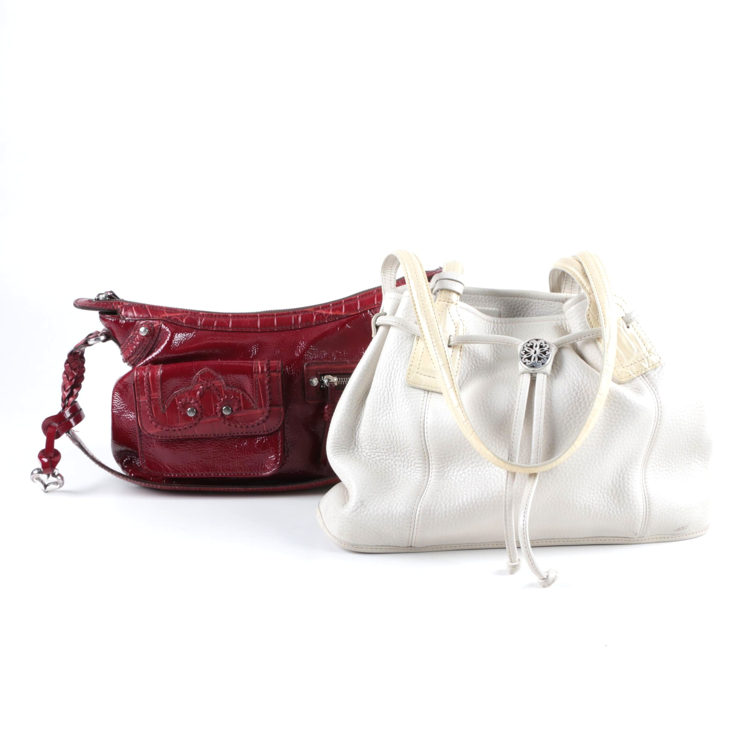 Two Brighton Leather Handbags