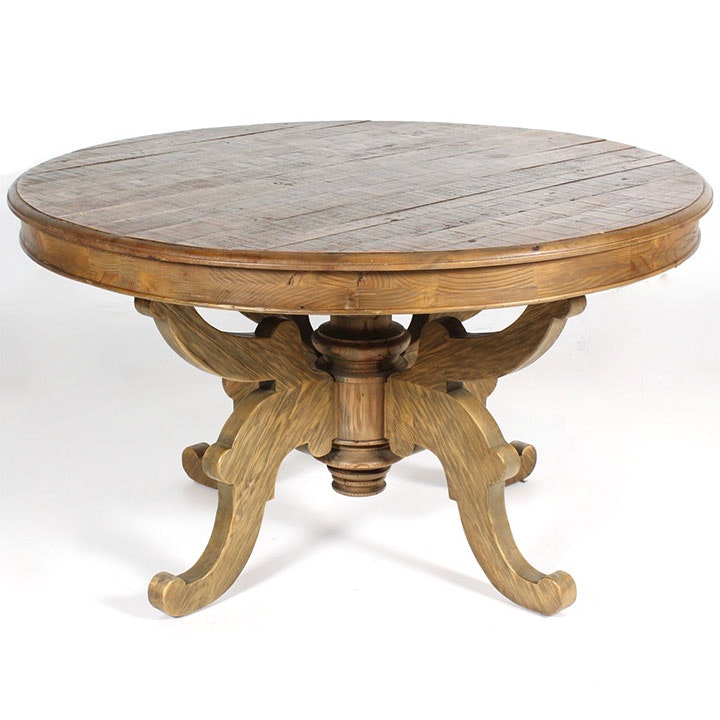 Arhaus Reclaimed Wood Round Dining Table