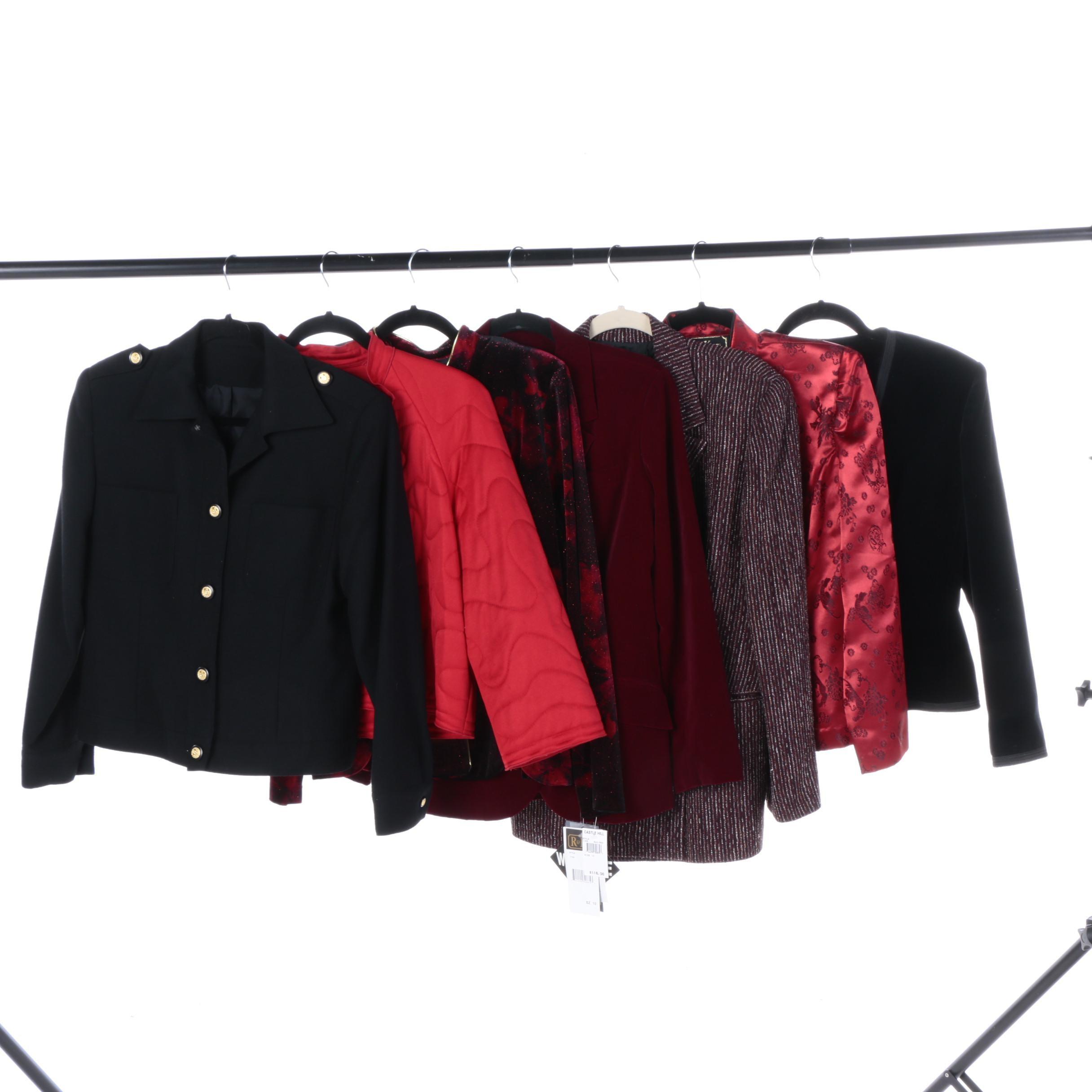 Women's Jackets Including R&K Evening
