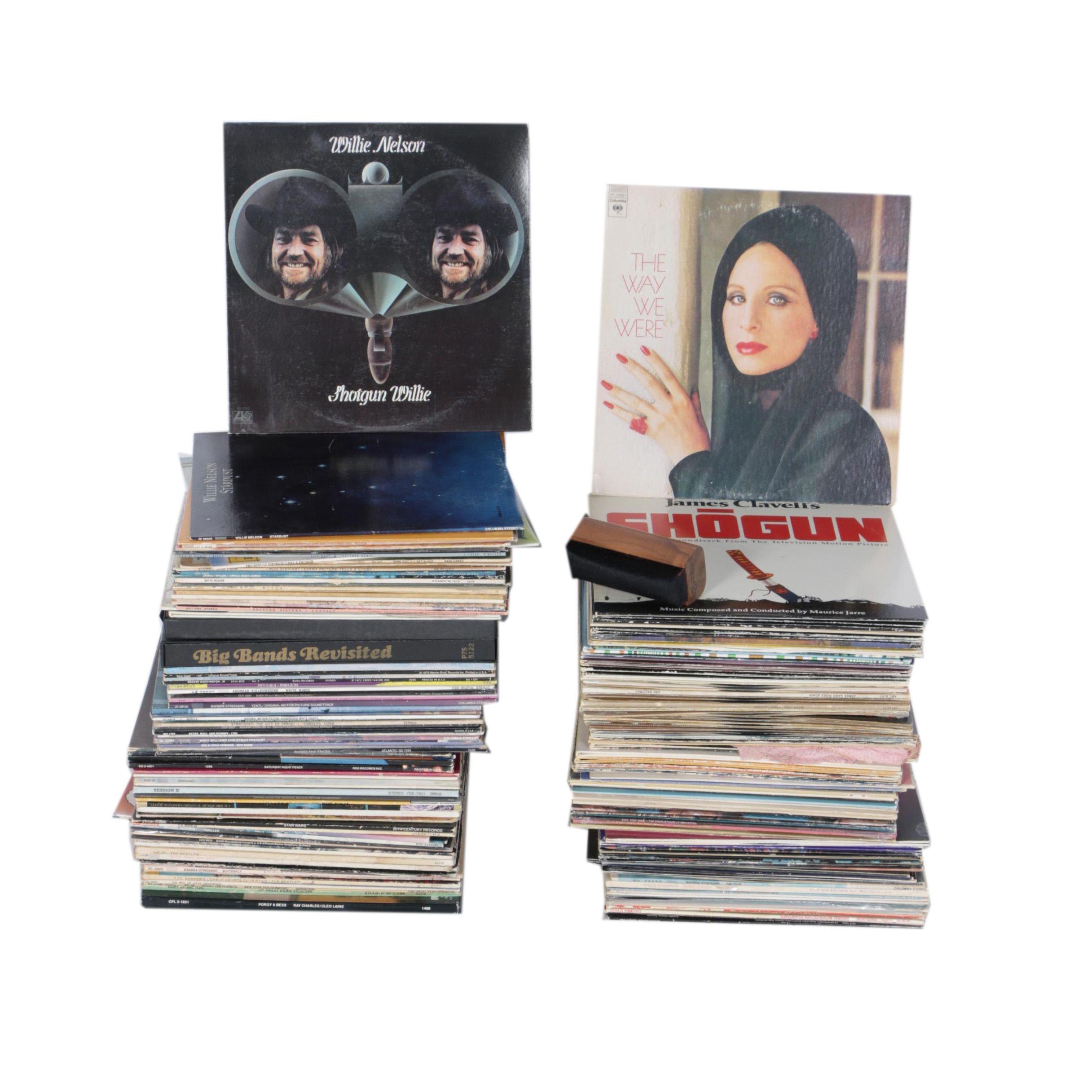 Willie Nelson, Barbra Streisand, Glenn Miller, and Other Records