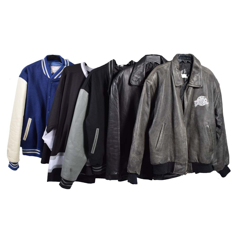 Men's Planet Hollywood and Hard Rock Cafe Jackets