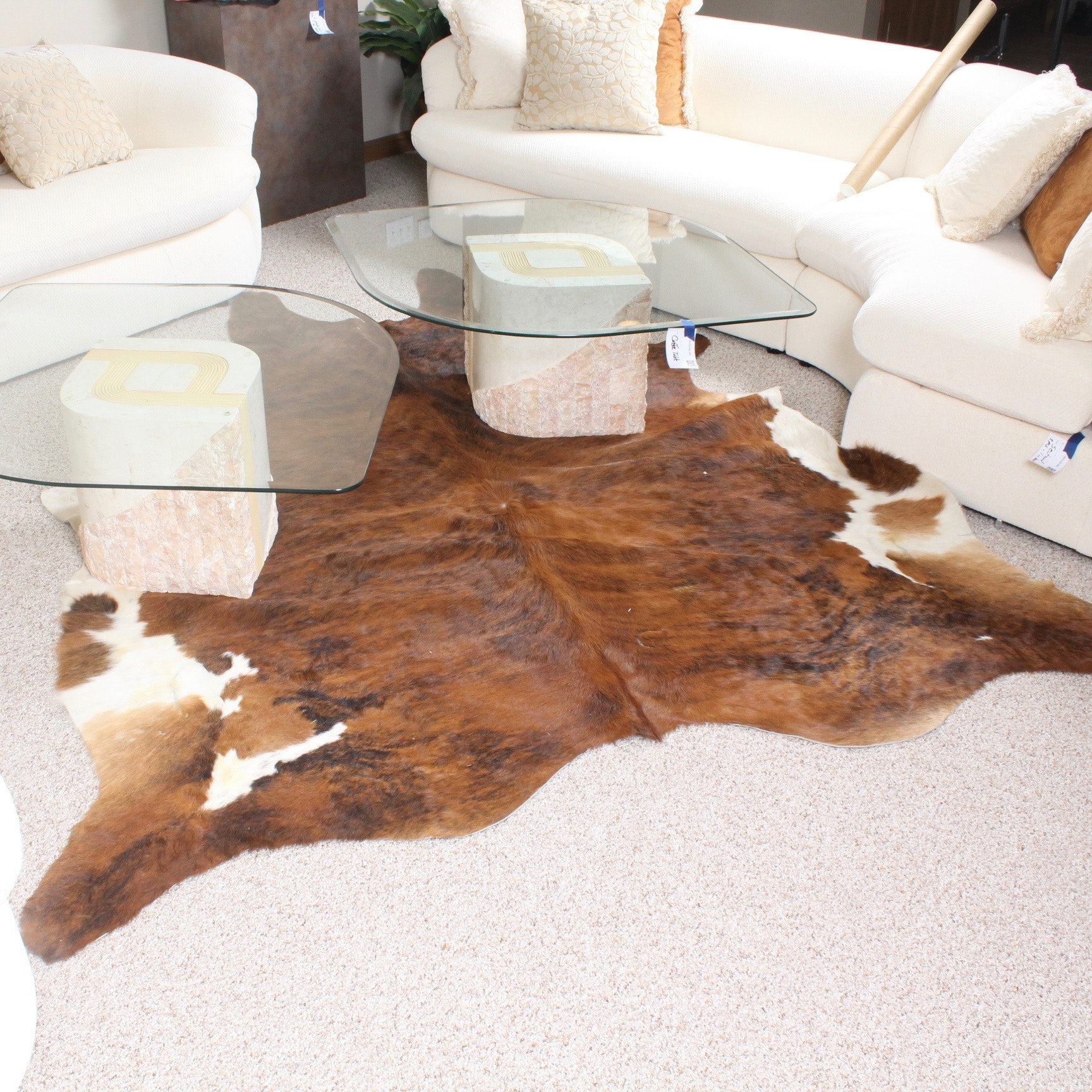 Brazilian Steer Hide Area Rug