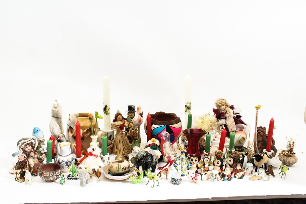 Large Collection of Miniature Decorative Items