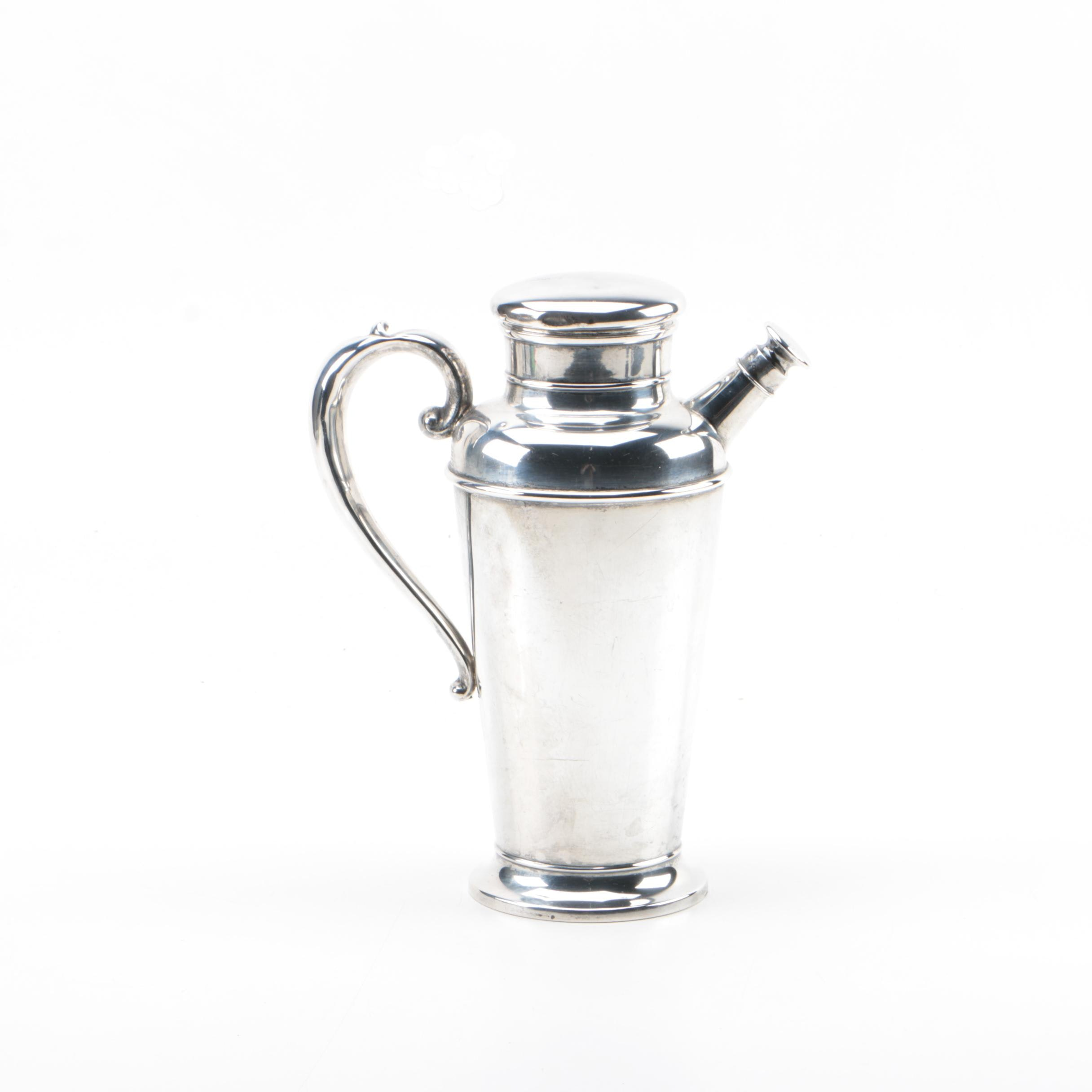 Manchester Silver Co. Sterling Silver Cocktail Shaker