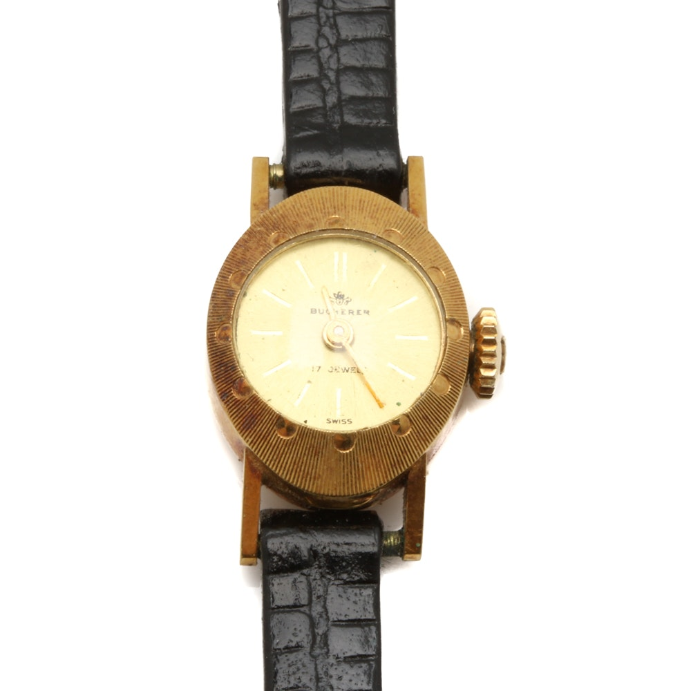 18K Yellow Gold Burcherer Wristwatch