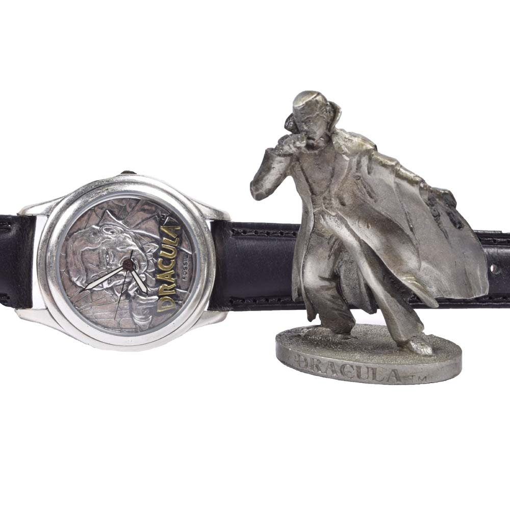 Limited Edition Fossil Dracula Wristwatch