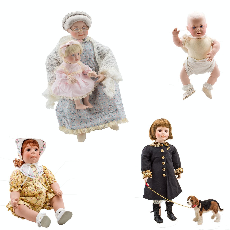 Lee Middleton and Judy Belle Dolls in Original Packaging