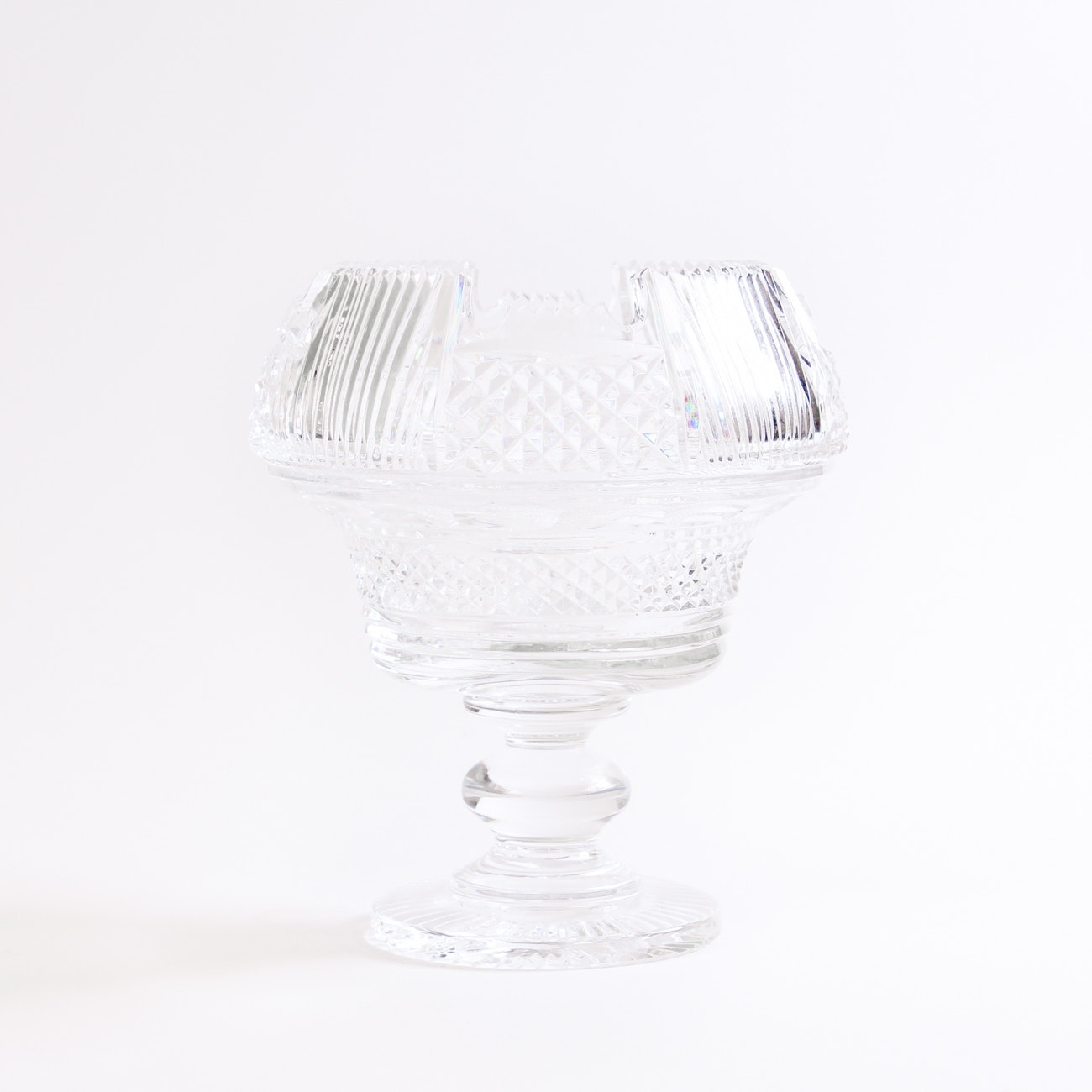 "Waterford Crystal Heritage Collection ""Prestige"" Centerpiece Bowl"