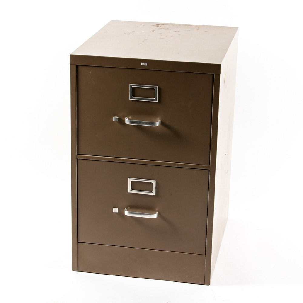 Metal Filing Cabinet by Hon