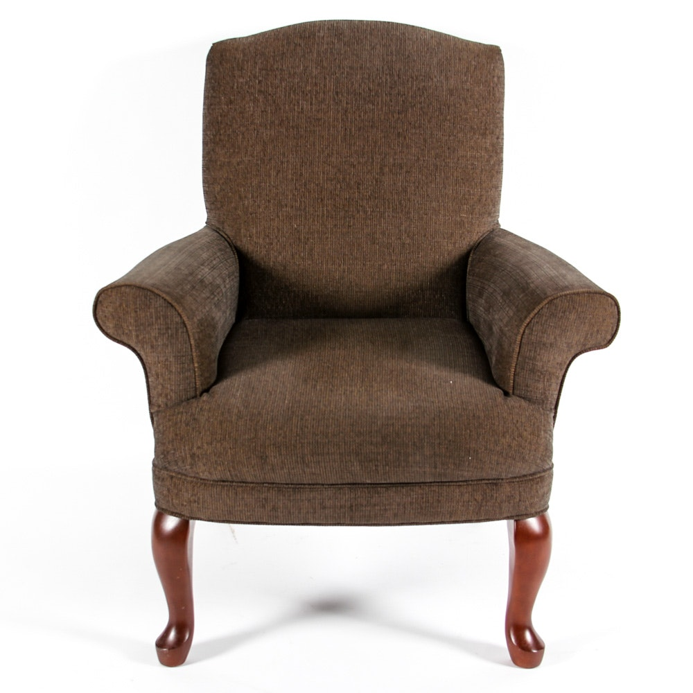 Queen Anne Style Upholstered Accent Chair by Best