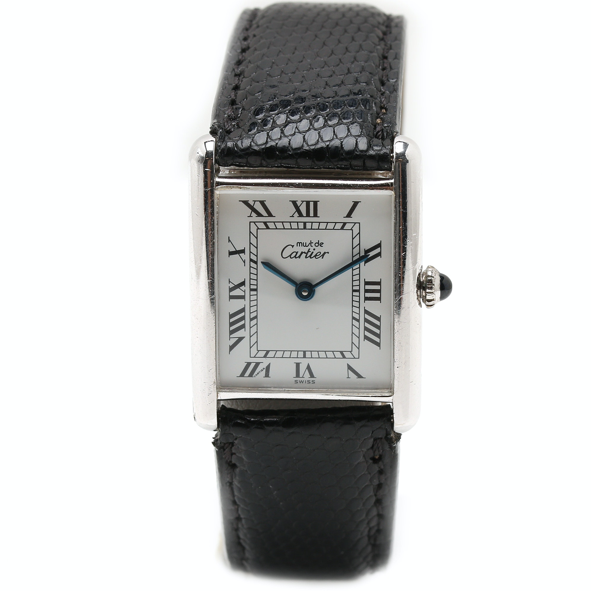 Must de Cartier Silver Tone Wrist Watch