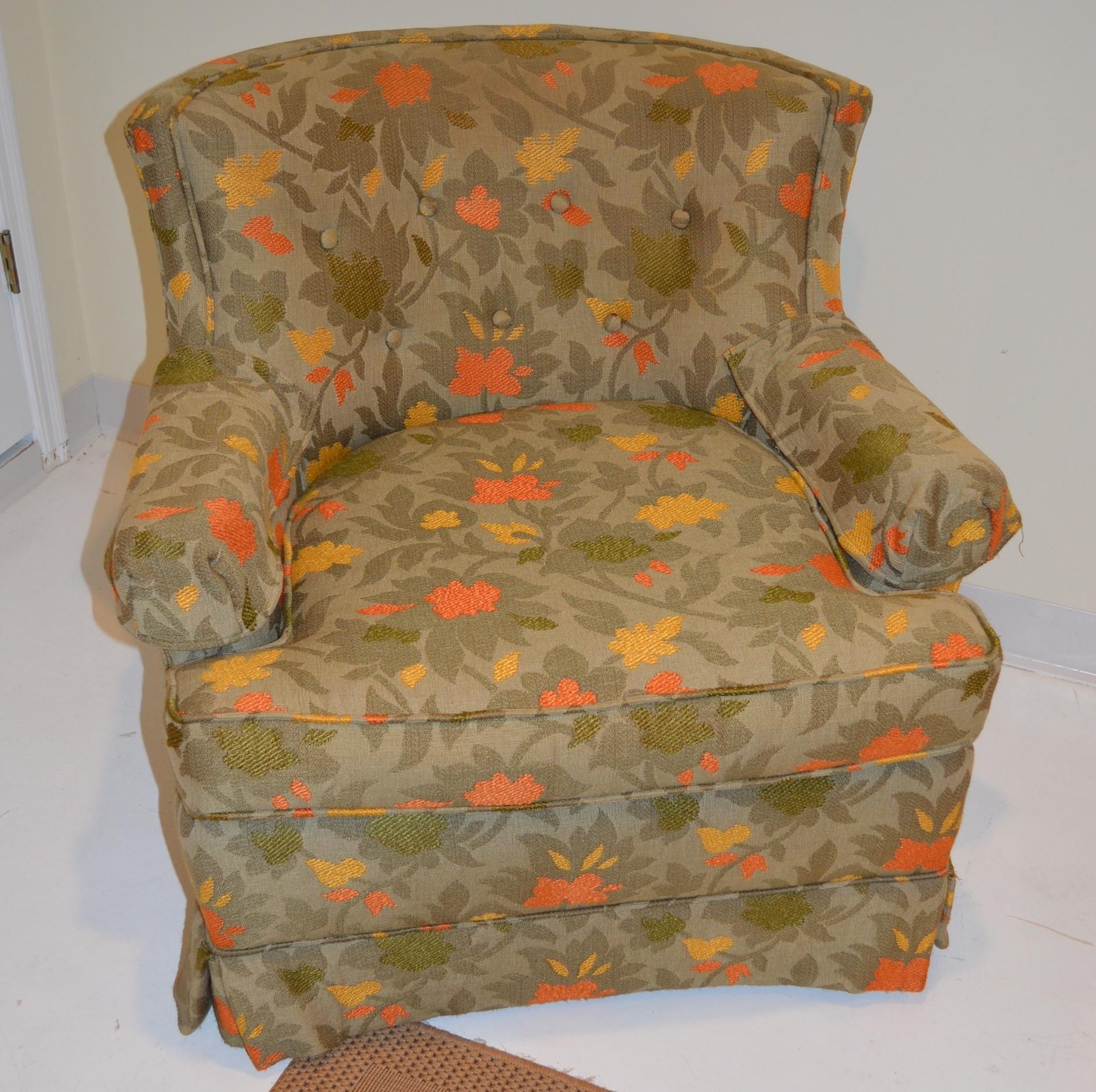 Cadeira personalizada ocasional estofada personalizada: Cadeira ocasional estofada personalizada