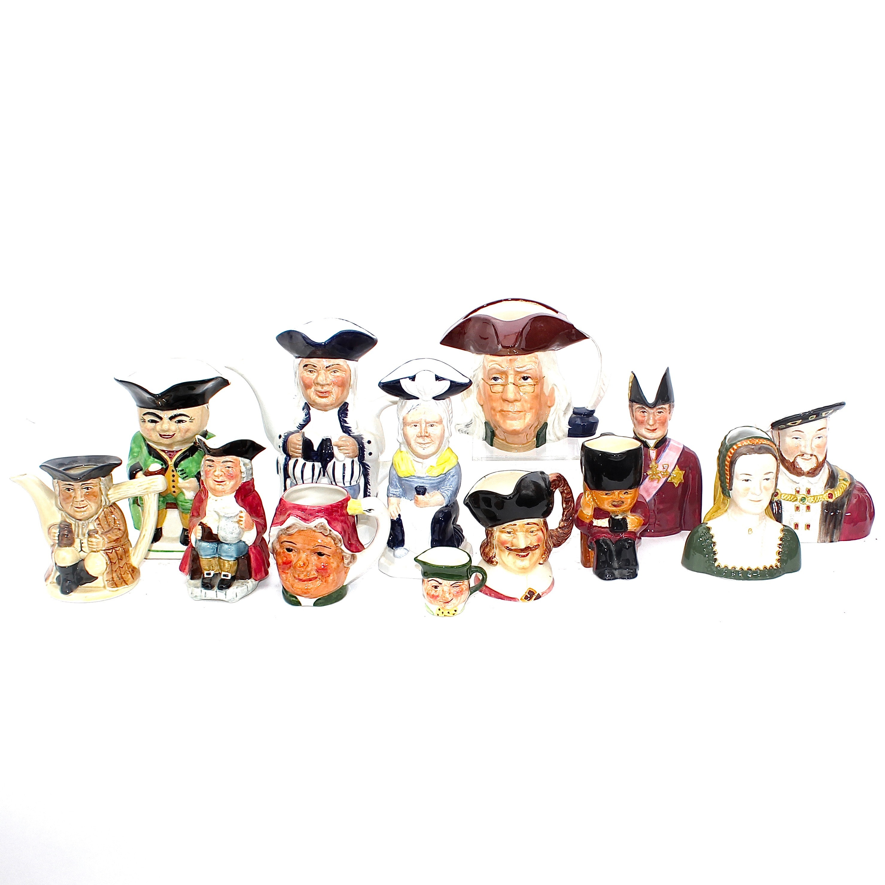 Character and Toby Jugs Including Staffordshire and Wood & Sons