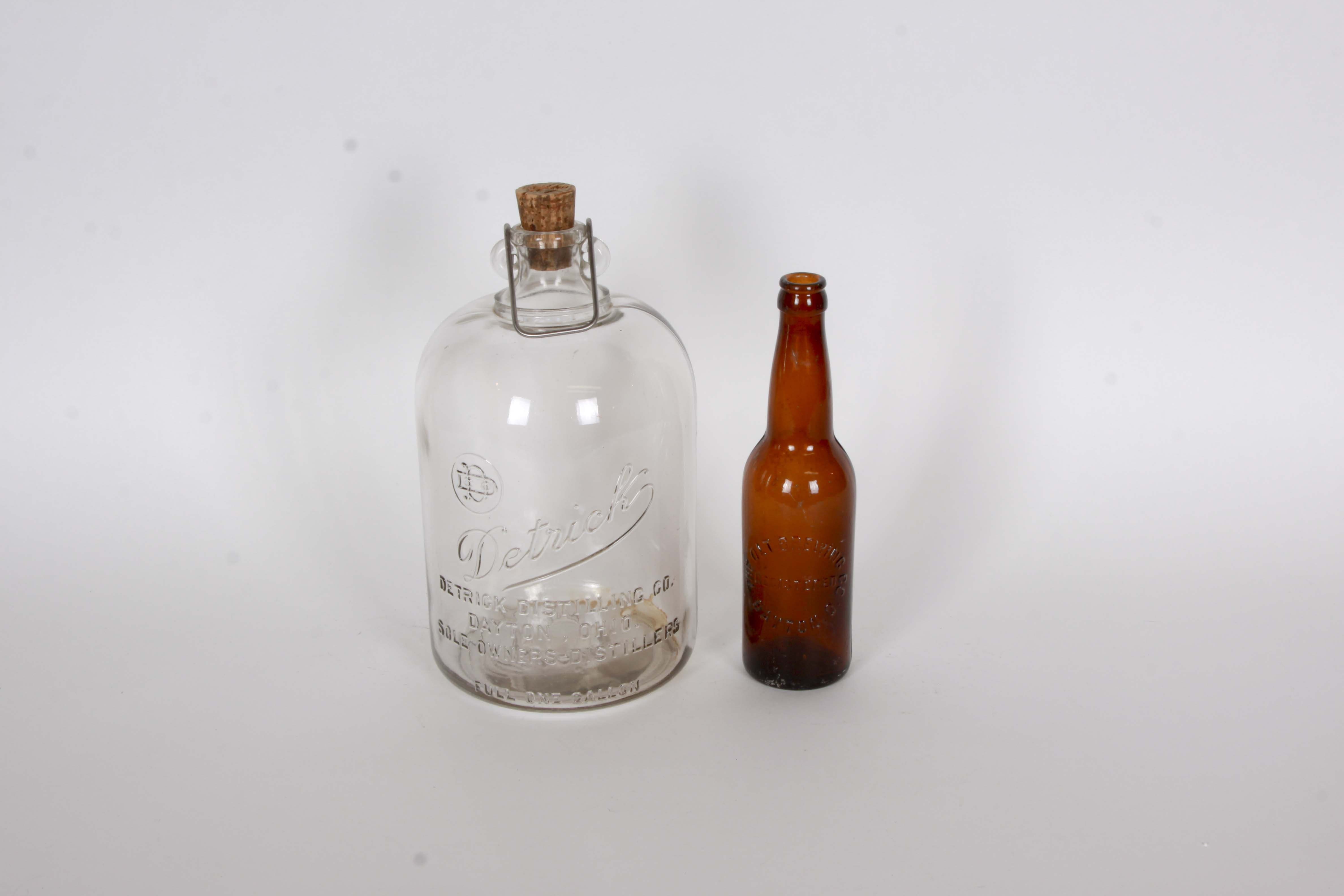 Dayton Ohio Vintage Bottles