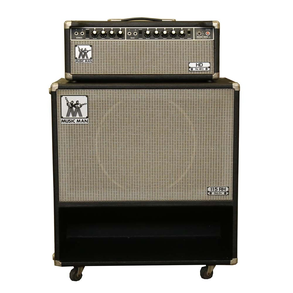 Music Man Guitar Amplifier Head and Cabinet