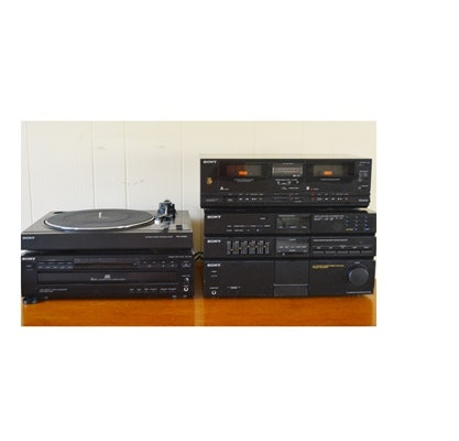 Sony Stereo Equipment, Six Piece System