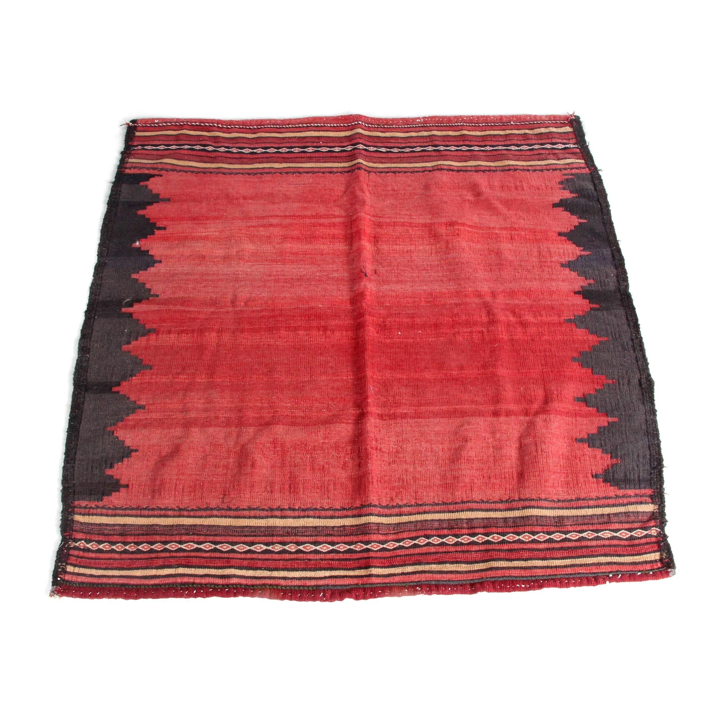 Handwoven Anatolian Wool Accent Rug