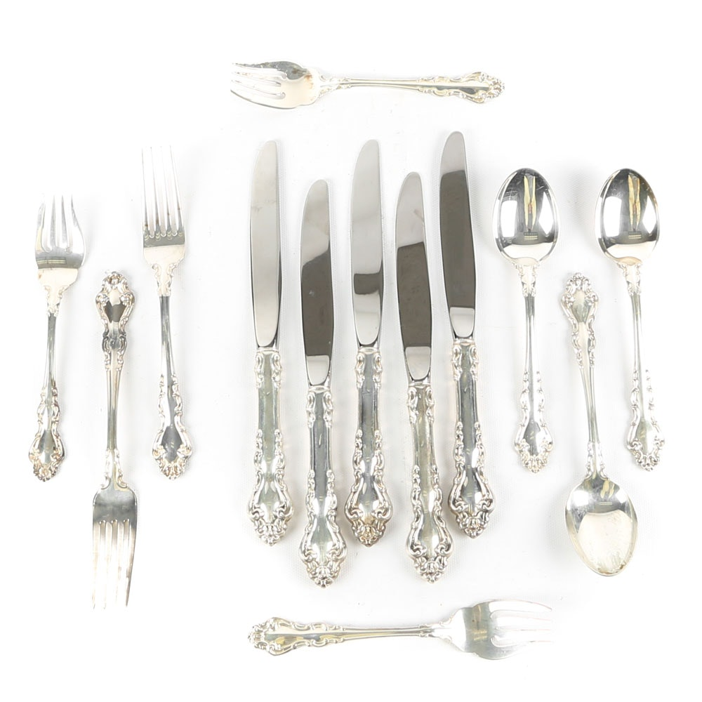 "Sterling Silver Reed & Barton ""Spanish Baroque"" Flatware"