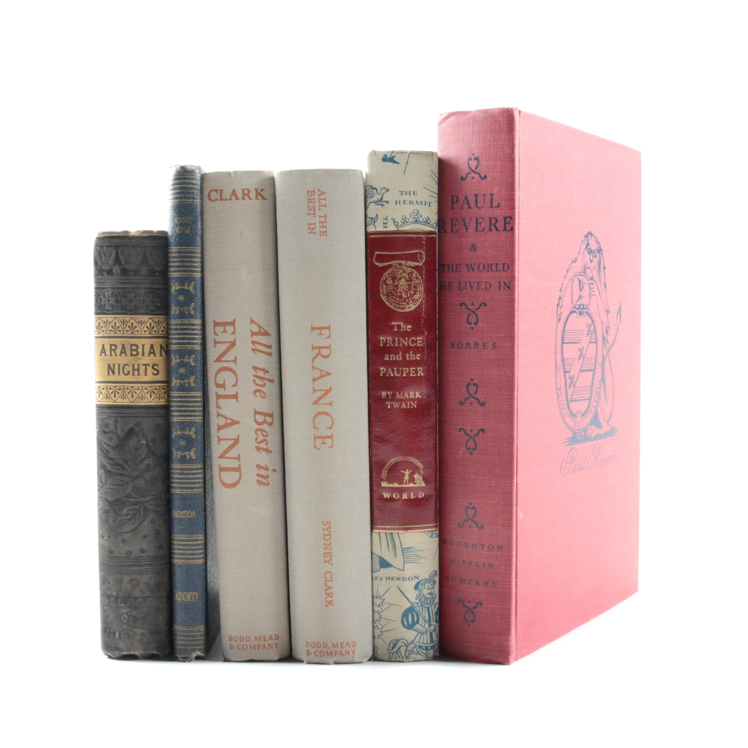 """Assorted Books Including 1951 """"All the Best in England"""""""