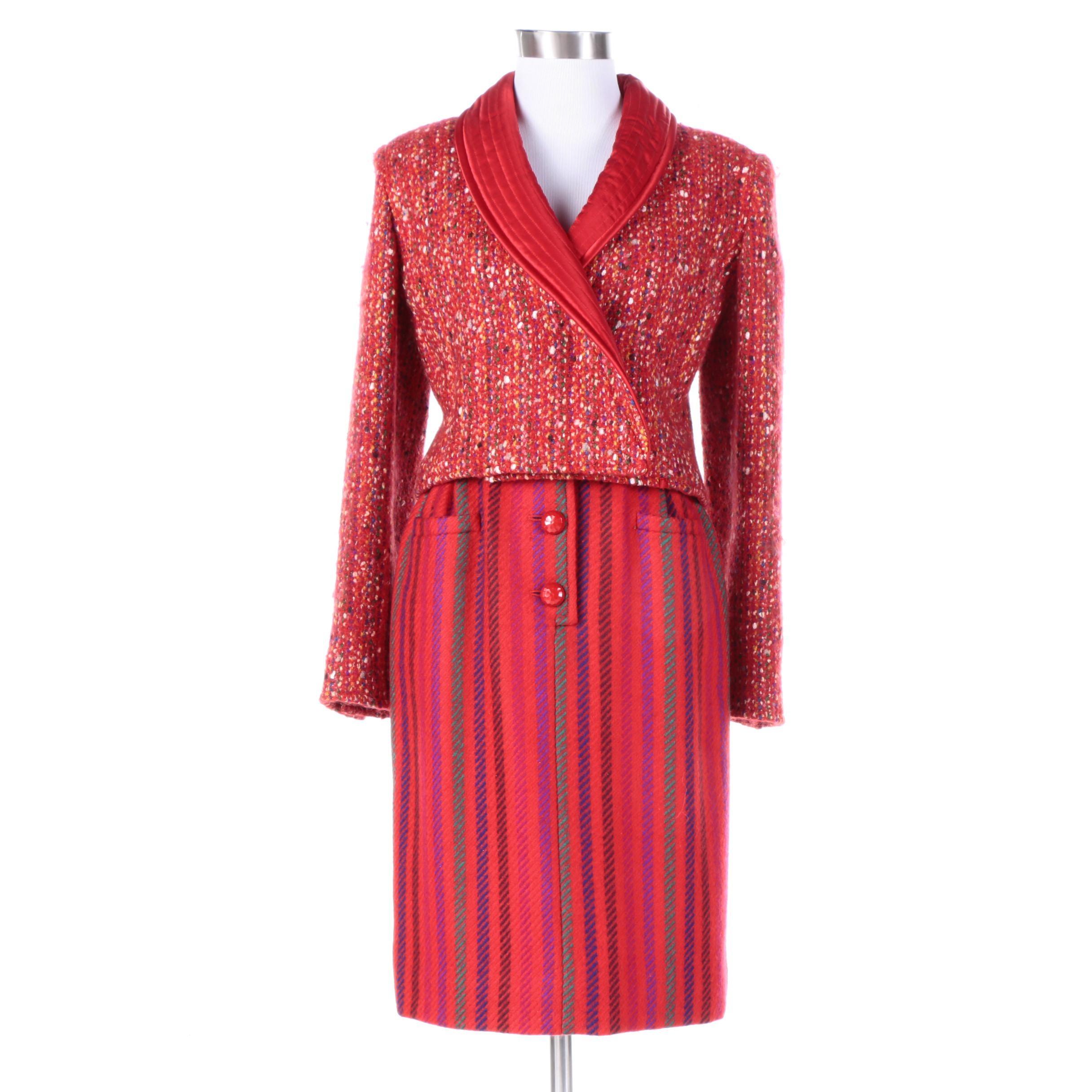 Vintage Valentino Boutique Skirt Suit
