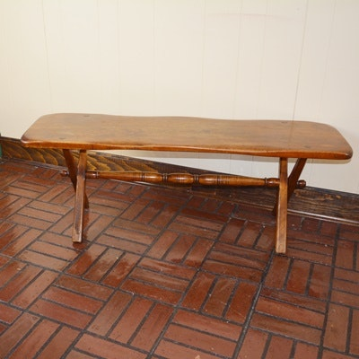 Cushman Colonial Maple Bench
