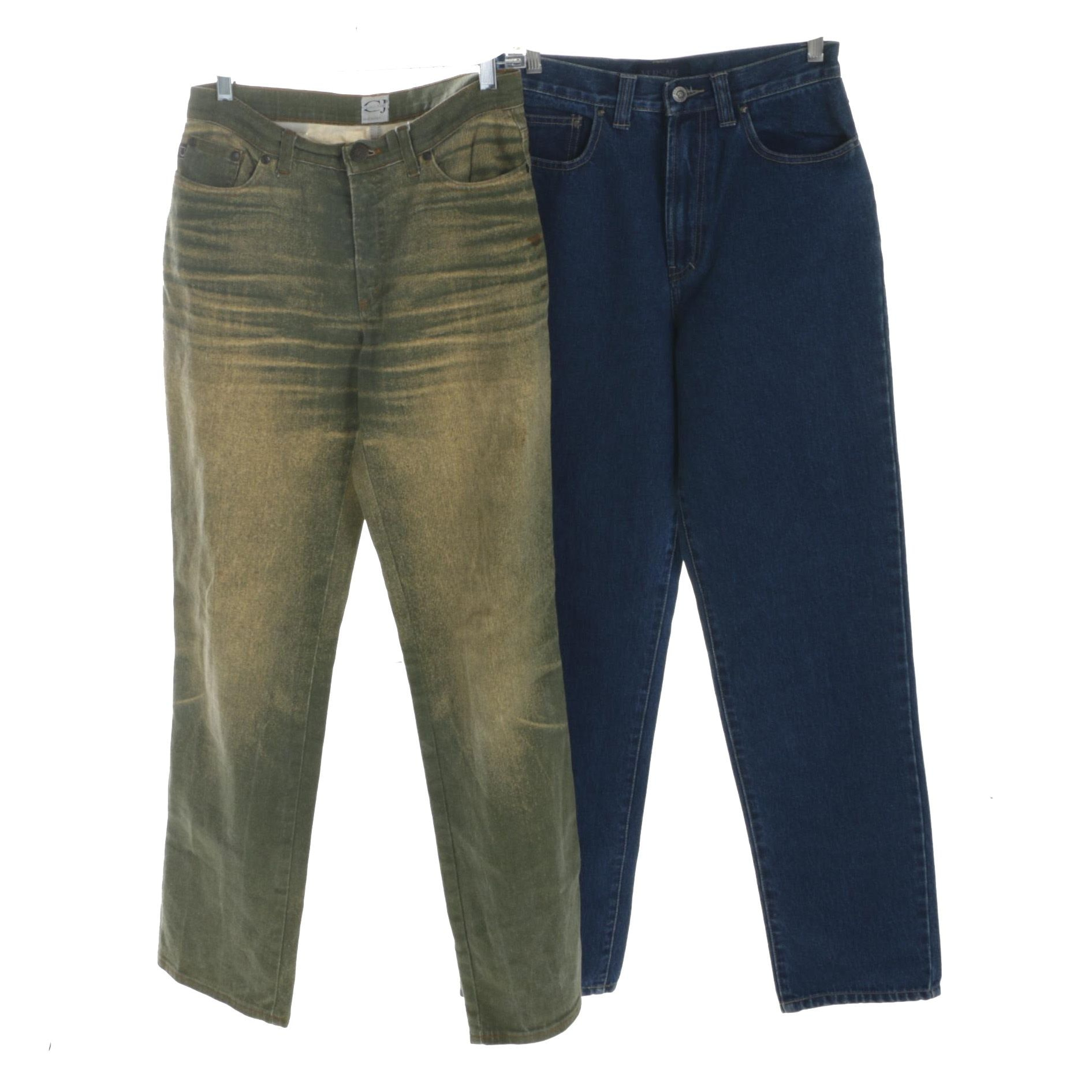 Women's Versace Jeans Couture and Cavalli Jeans Denim Pants