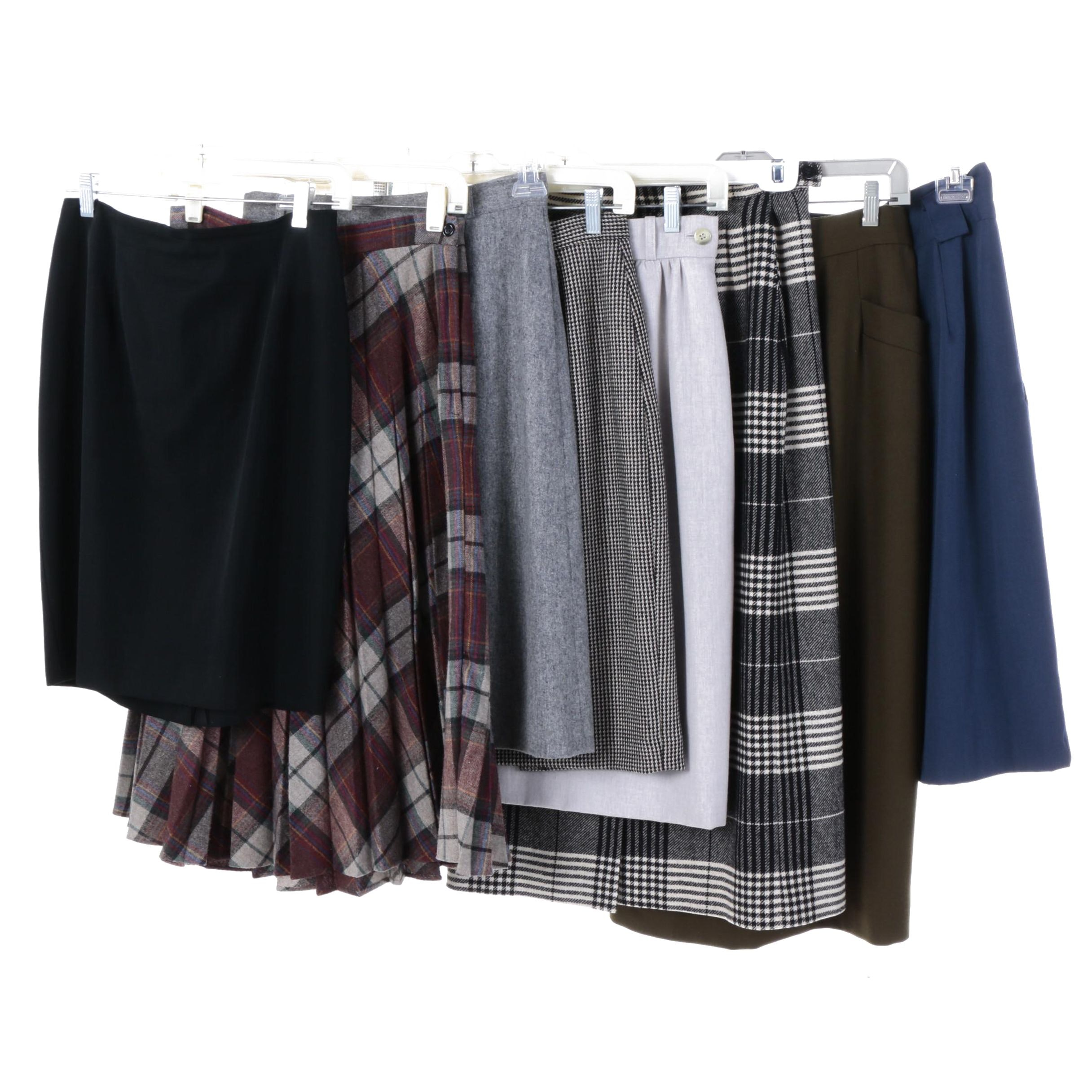Women's Vintage Skirts Including Evan-Picone and Jaeger