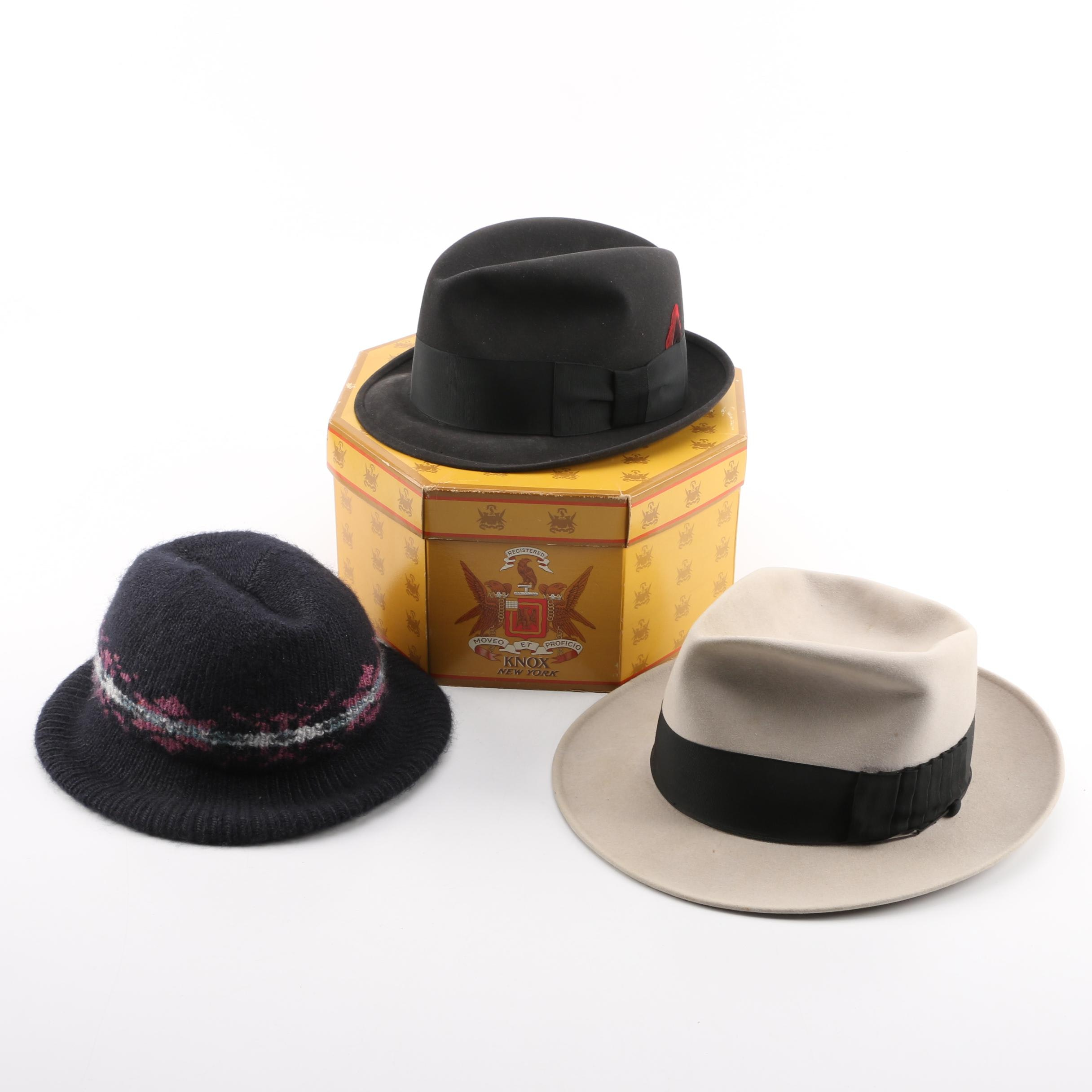 Men's Vintage Hats Including LaSalle