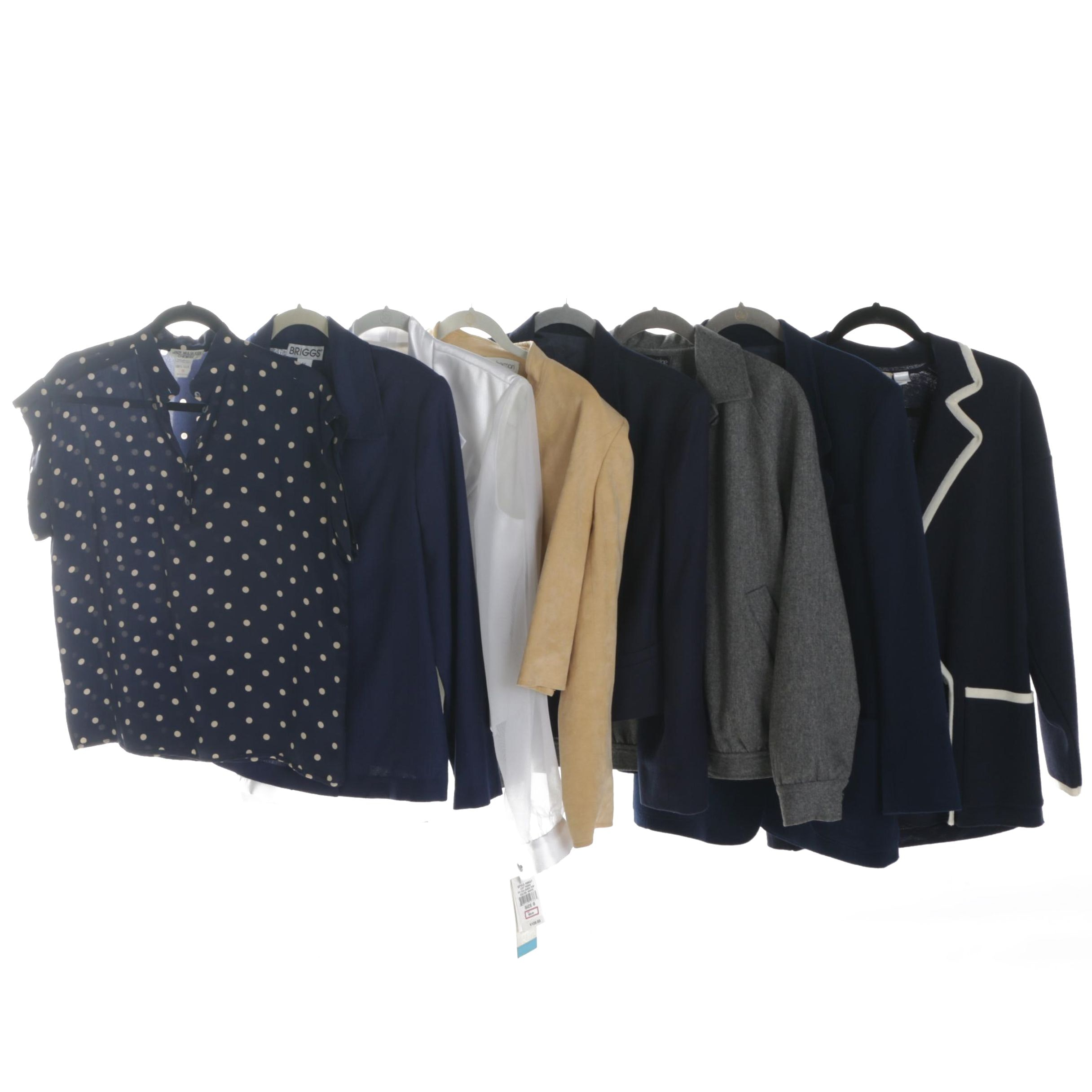 Women's Blouses, Blazers and Jackets