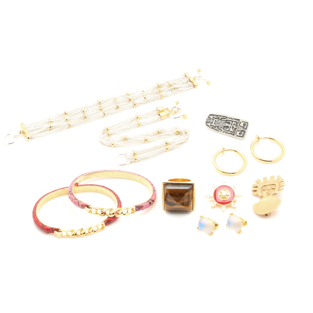 Jewelry Assortment Including Givenchy and St. John