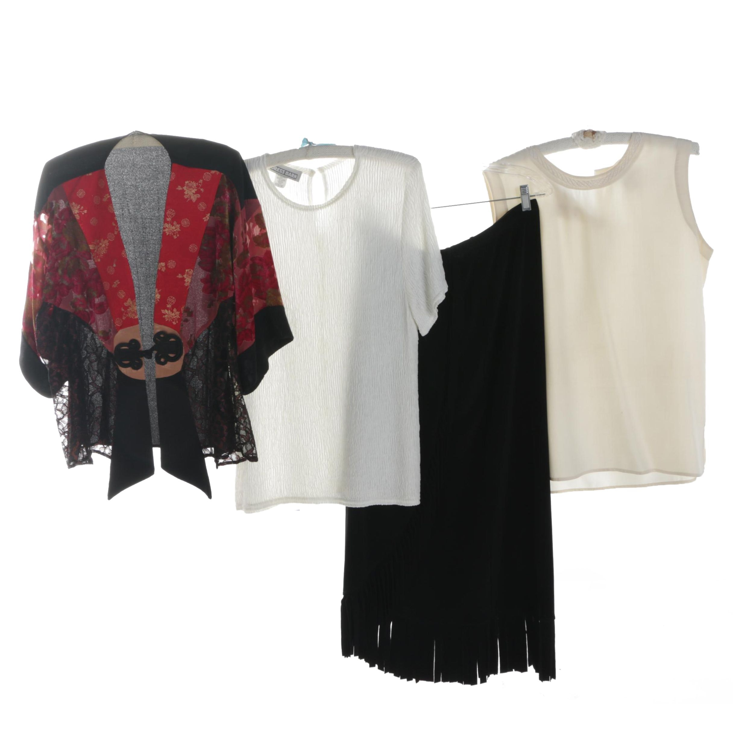Women's Tops and Skirt