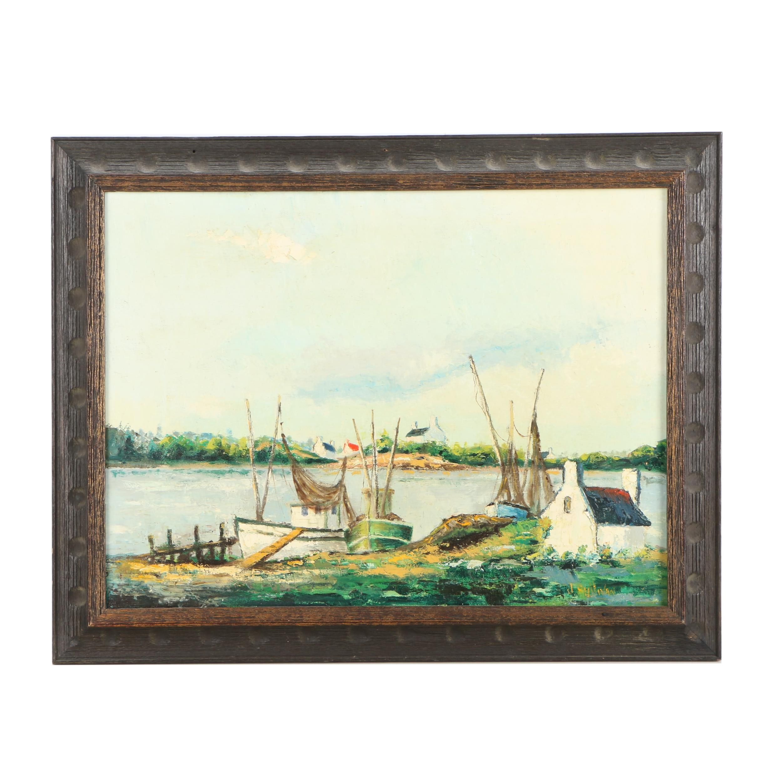 1969 J. Sullivan Oil Painting