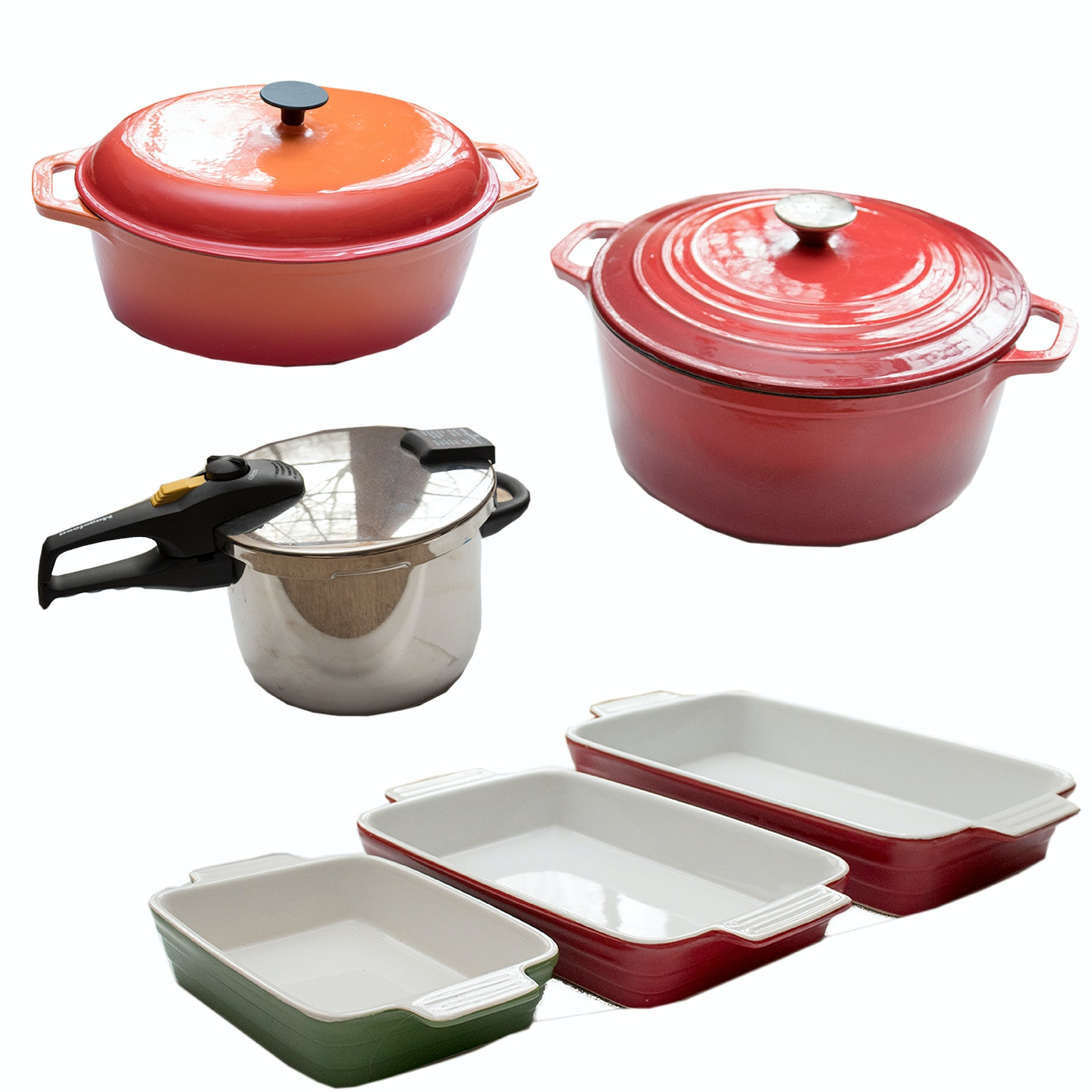 Enamel Cookware and Magefesa Pressure Cookers