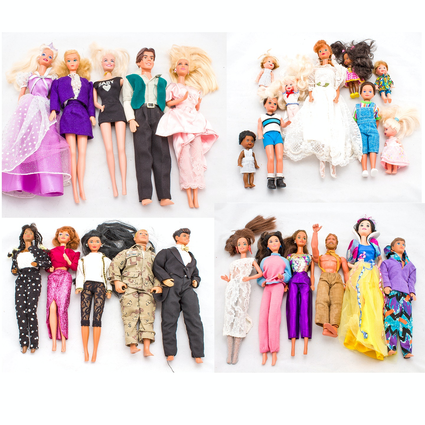 Vintage Barbies, Dolls and Clothing, 1970s-1980s