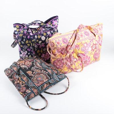 6500d2b1802d Vera Bradley Tote Bags and Drawstring Backpack