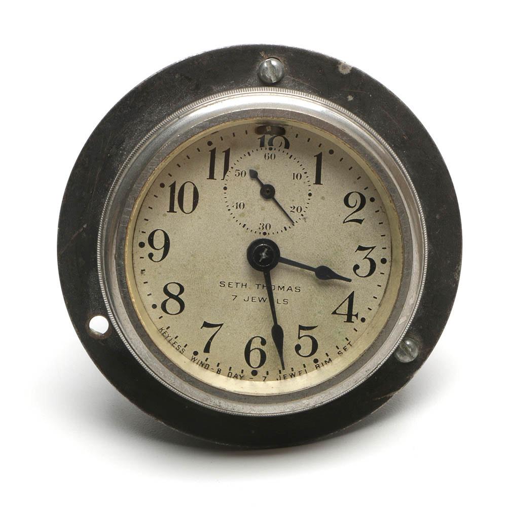 Vintage Seth Thomas Nautical Clock