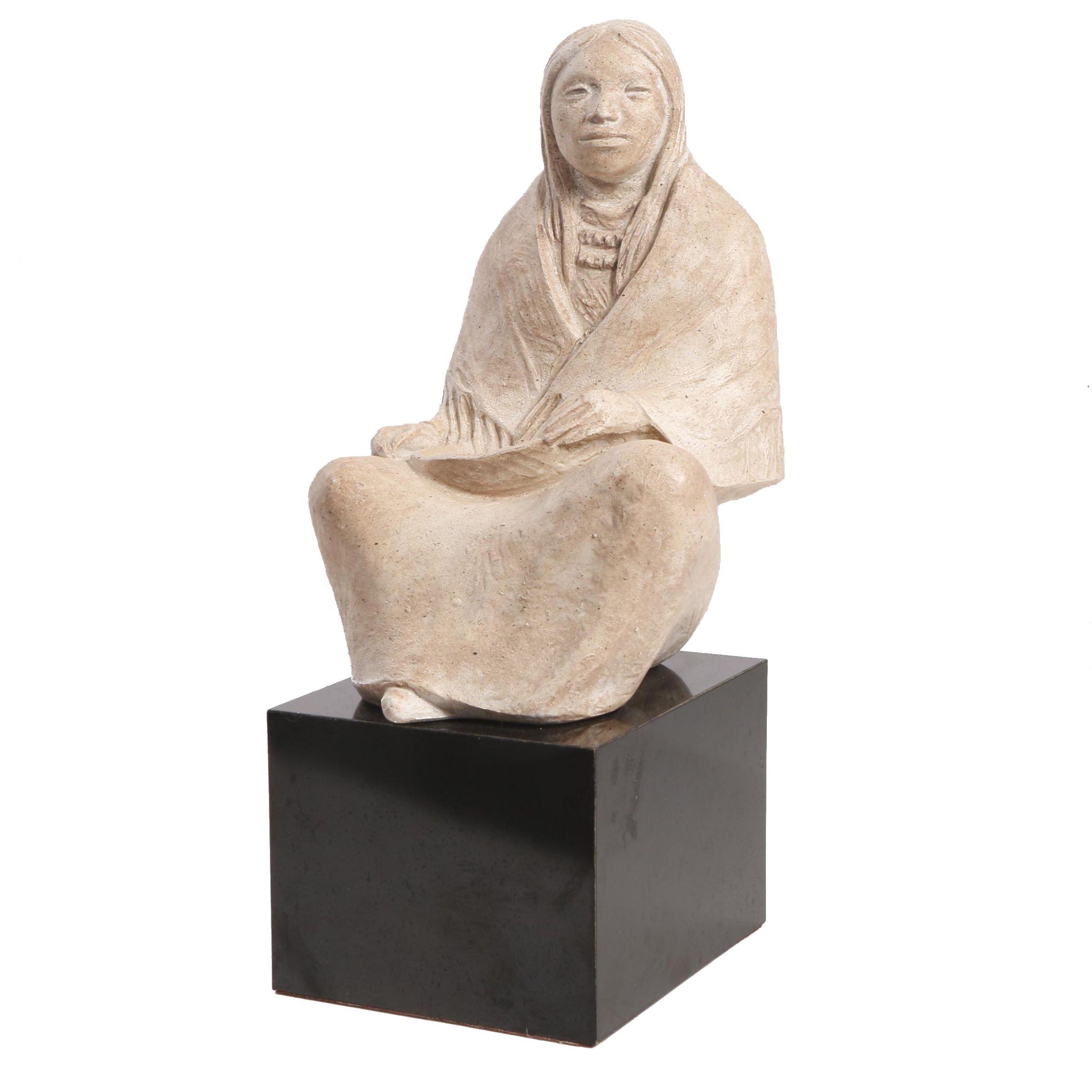 Ceramic Sculpture After James Marshall