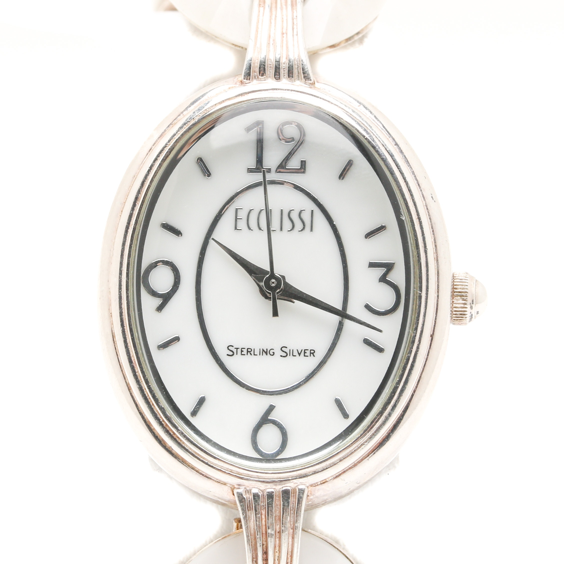 Sterling Silver Ecclissi Fashion Wristwatch