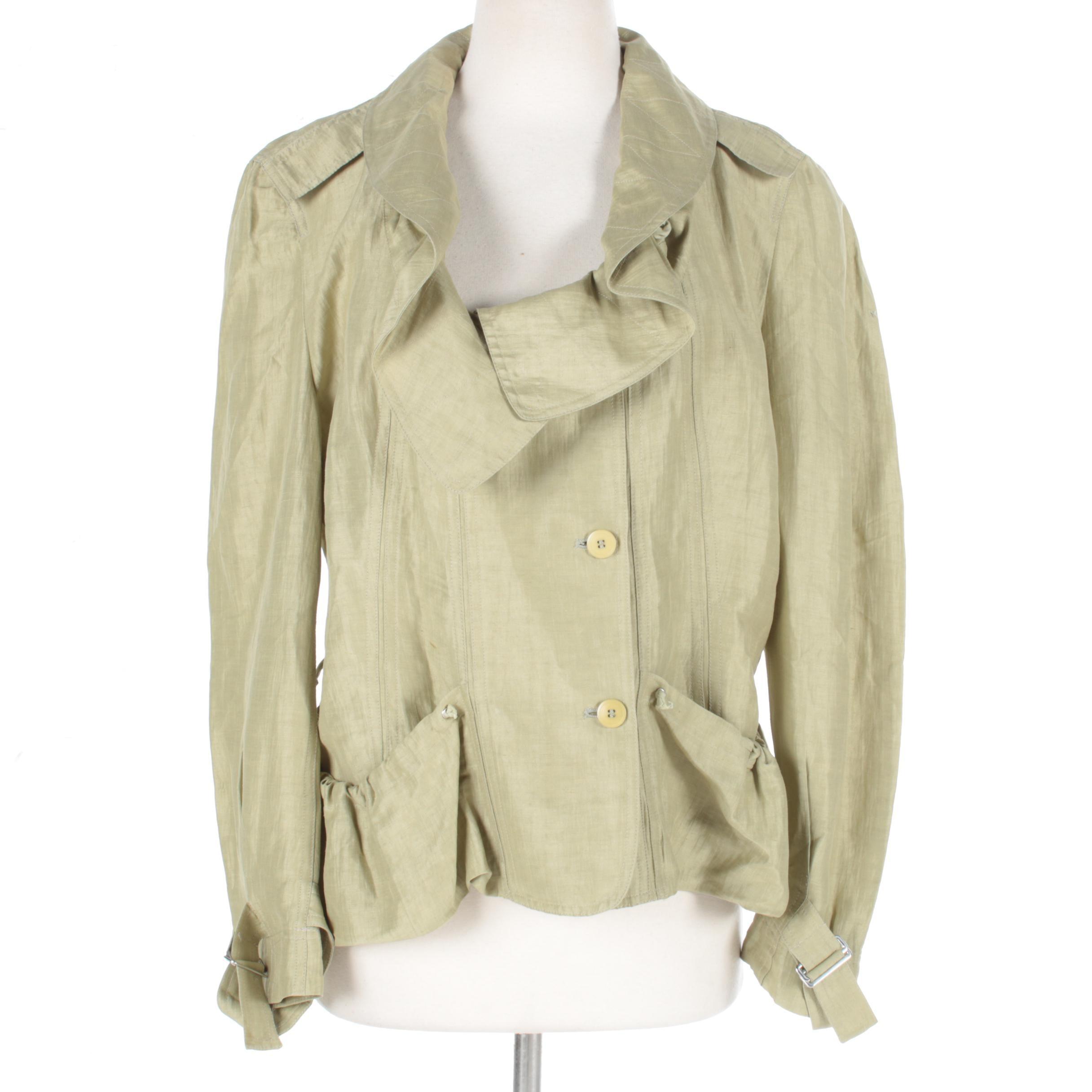 Donna Karan Linen Blend Jacket