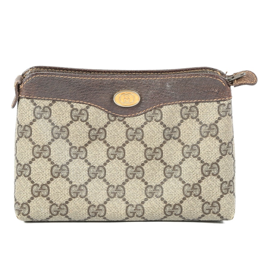 6e472517d06 Vintage Gucci Signature Accessory Bag   EBTH