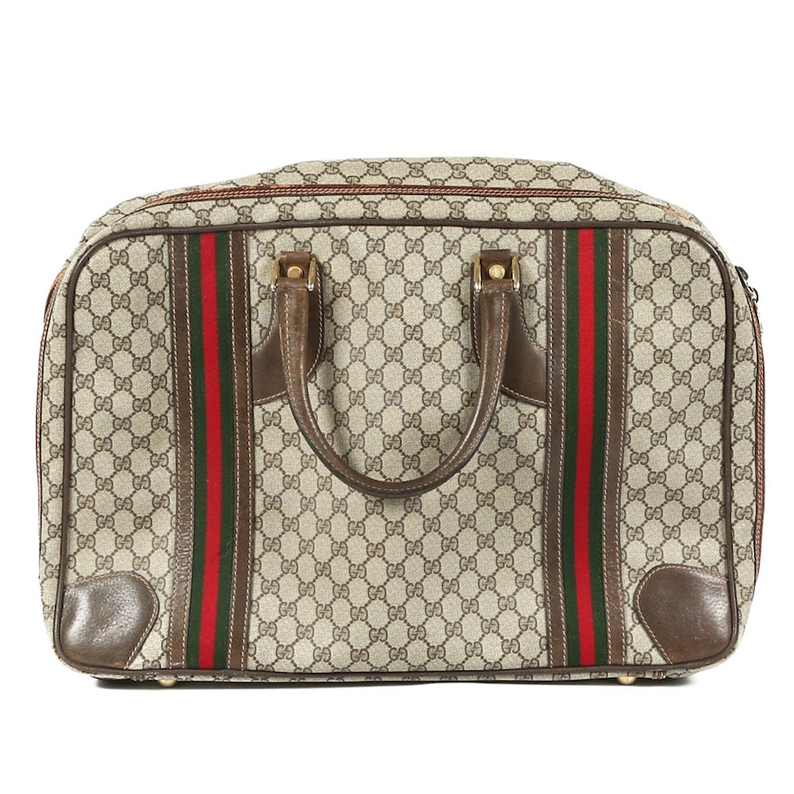 71e5b648db69 Vintage Gucci Overnight Bag : EBTH