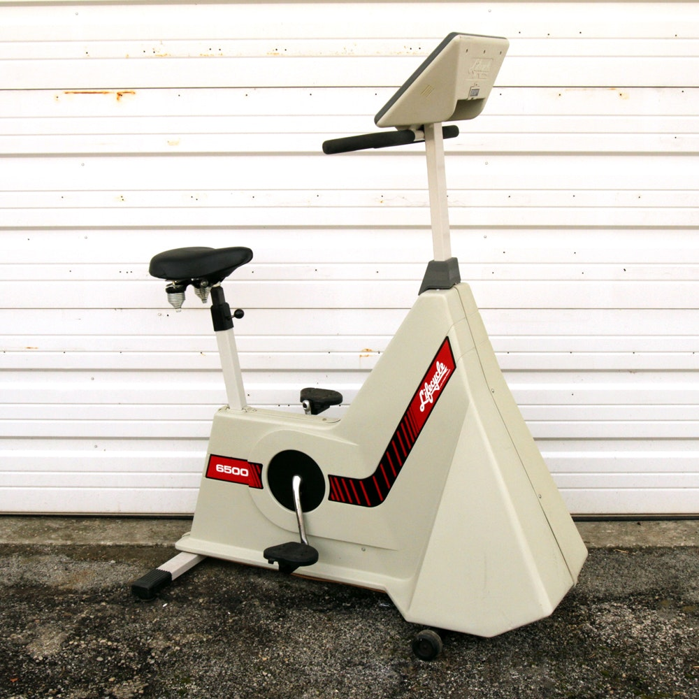 "LIfe Fitness ""Lifecycle 6500"" Stationary Exercise Bicycle"