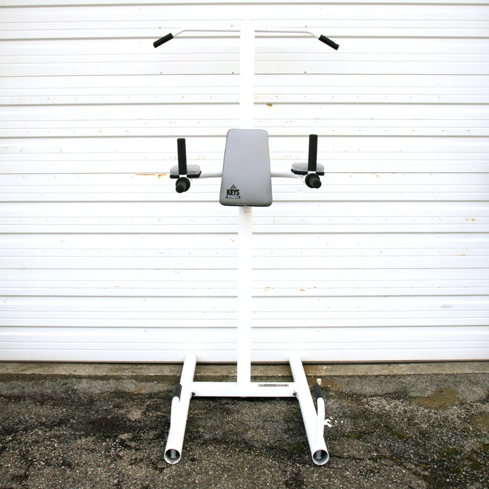 "Keys Fitness ""Power System"" Vertical Fitness Stand"
