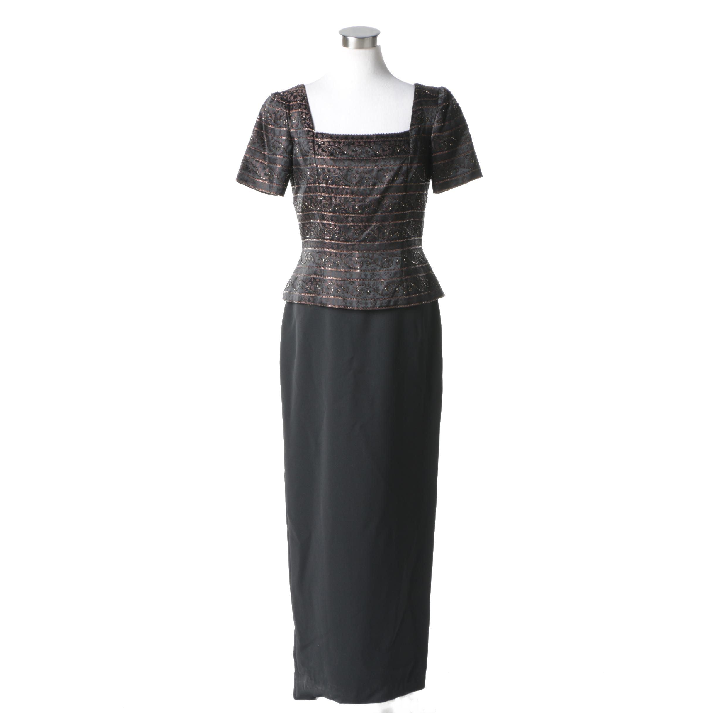 Marie St. Claire Evening Dress