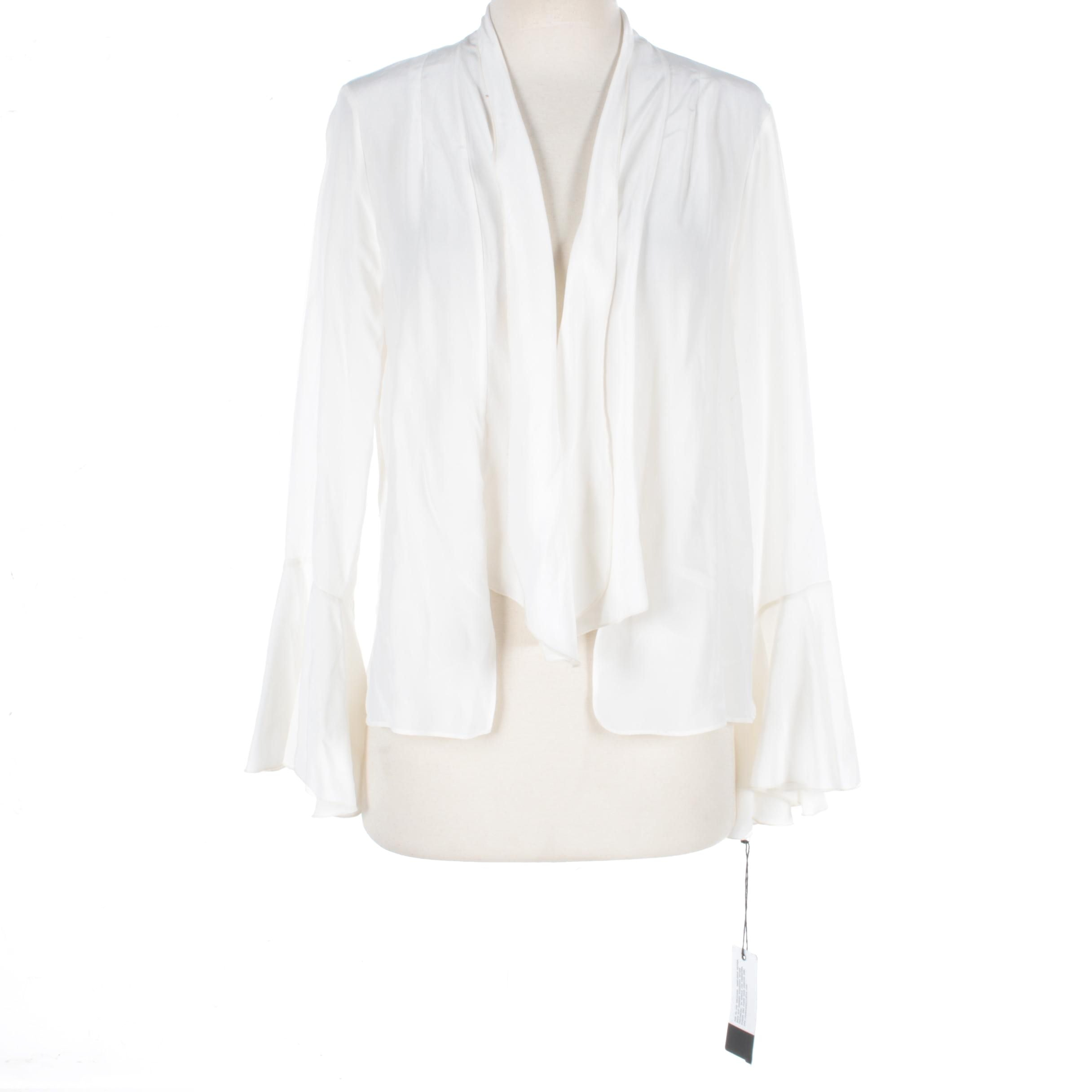 Stone Cold Fox Off-White Bell Sleeve Blouse