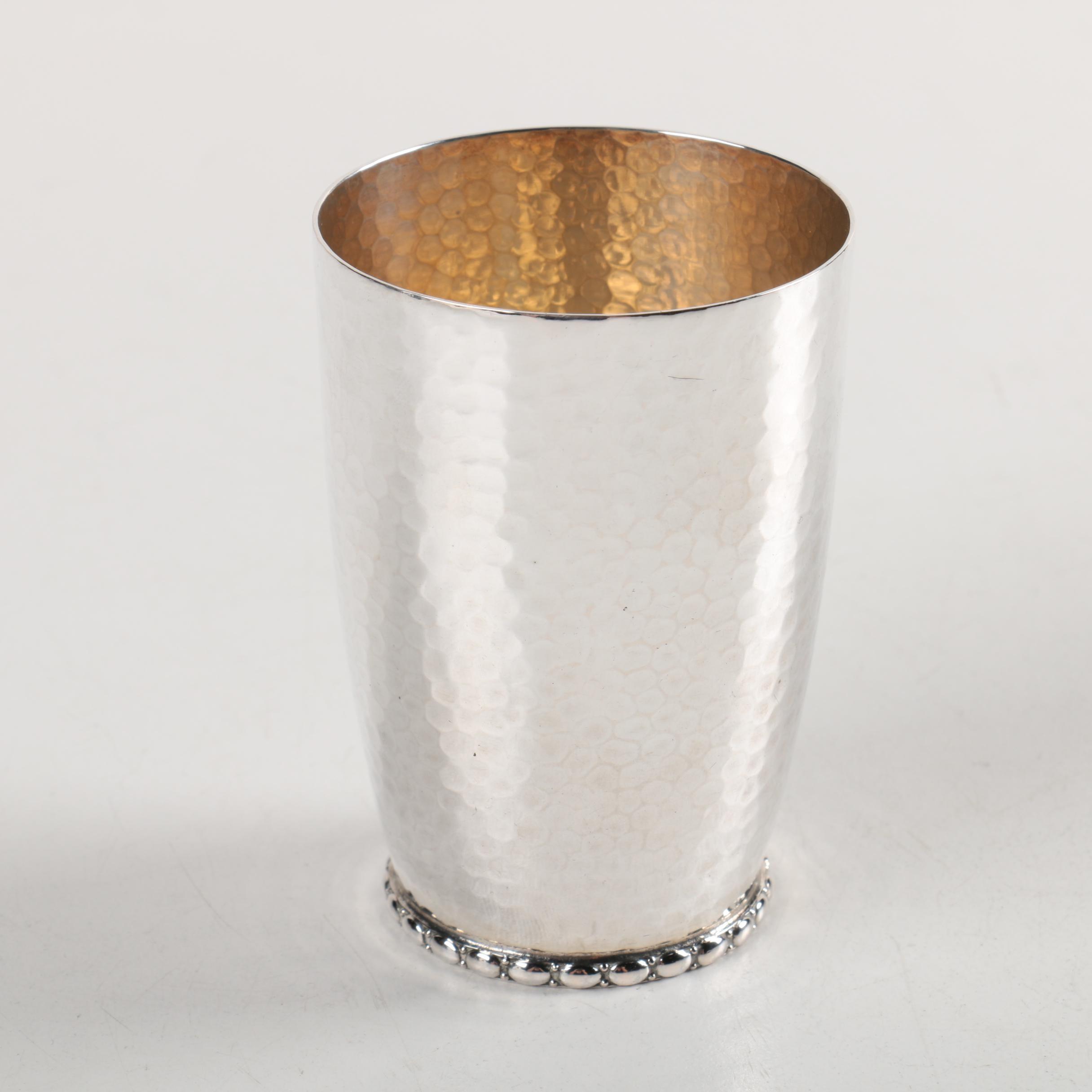 Wilhelm Binder German 800 Silver Cup