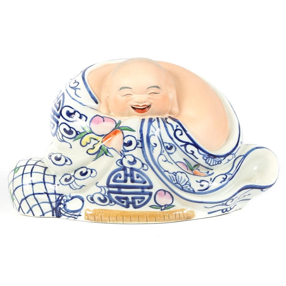 Chinese Porcelain Budai Figurine