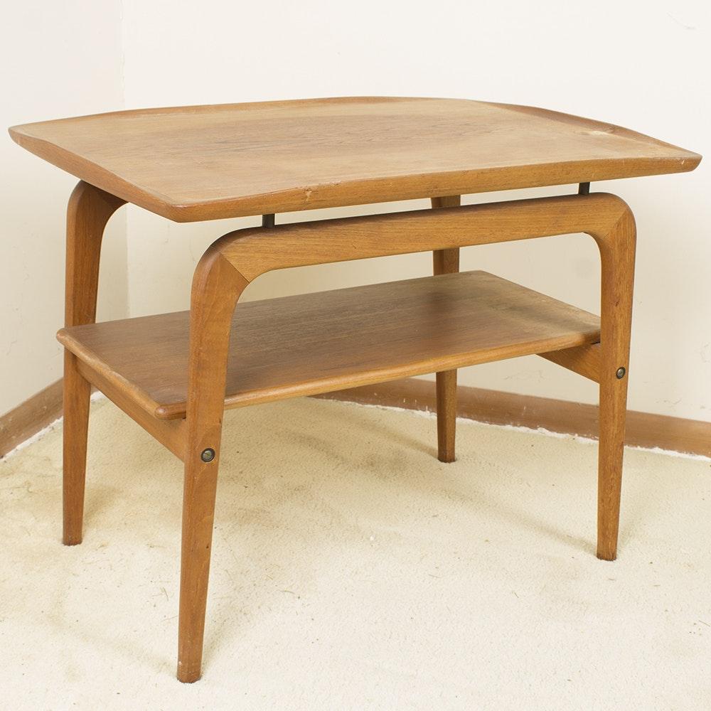 Danish Modern Style Teak End Table