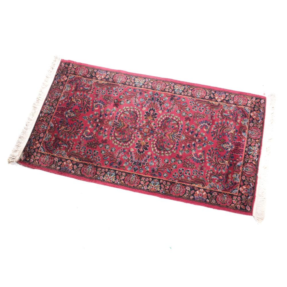 Hand-Knotted Persian Sarouk Rug
