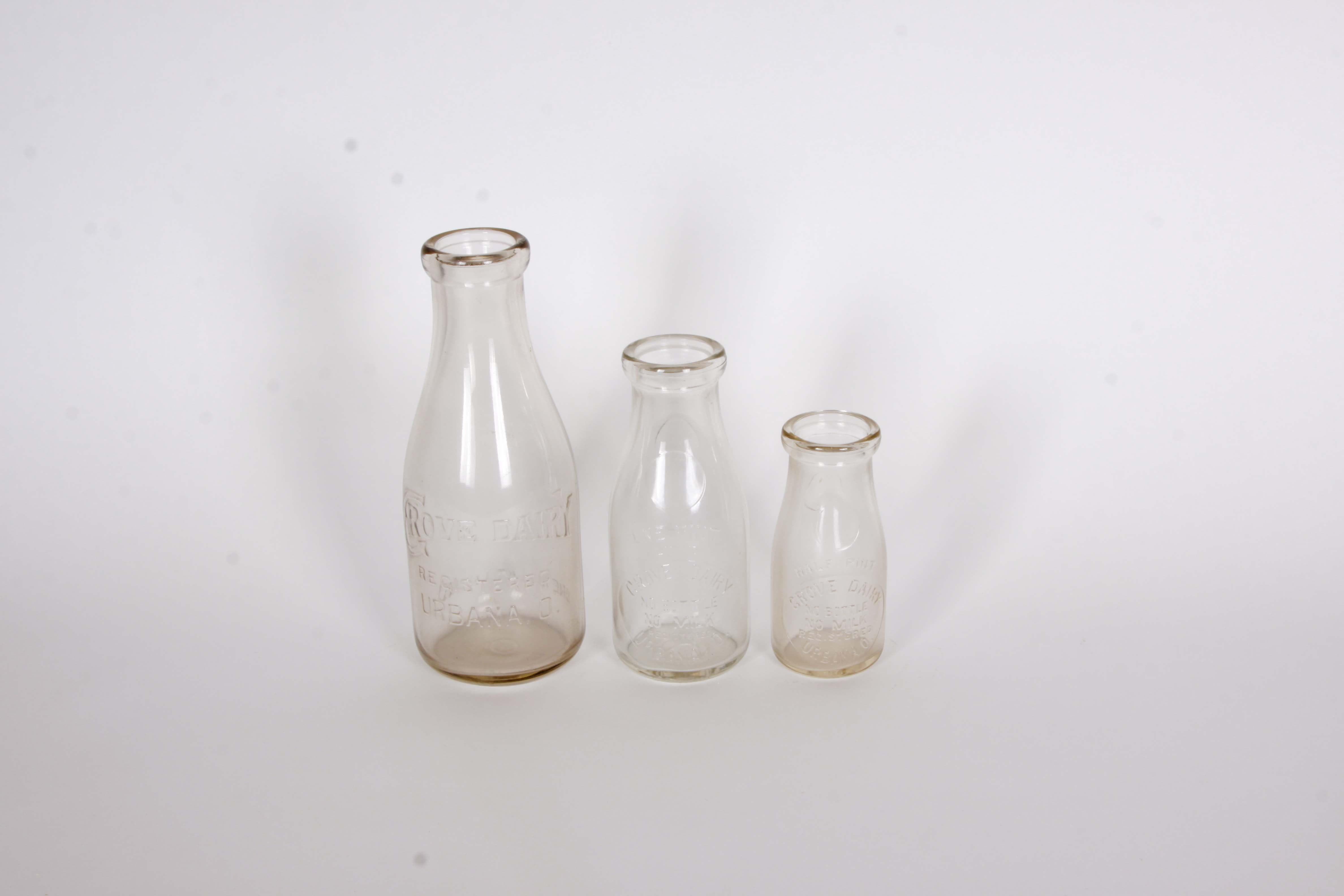 Grove Dairy Milk Bottle Set
